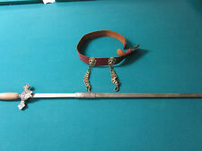 KNIGHTS OF COLUMBUS CEREMONIAL SWORD WITH BELT