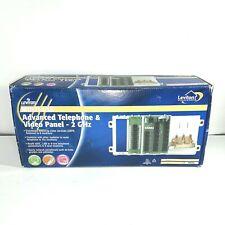 Leviton Advanced home telephone and video panel white 47606-AHT