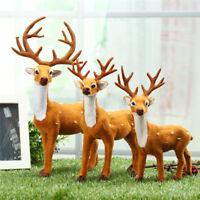 Christmas Deer Reindeer Santa Craft Elk Xmas Home Tree Decor Ornaments Gift