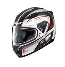 NOLAN N60 N60-5 CLASSIC RAPID WHITE MOTORCYCLE MOTORBIKE FULL FACE HELMET