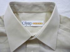 E7924 Olymp Luxor 6102 64 22 Businesshemd Kombimanschette 41 beige meliert Uni