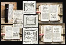 1651 Curiosa mathematica arte trozos salonmagie Occulta billar ens Thaumaturgus