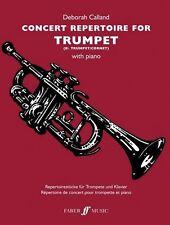 Concert Repertoire For Trumpet With Piano by Deborah Calland