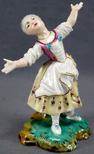 Dressel & Kister Passau Hand Painted Female Figurine Circa 1902 - 1904