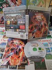 Playstation 3 PS3:Ultimate Marvel VS Capcom 3 [TOP & 1ERE EDITION RARE] Fr