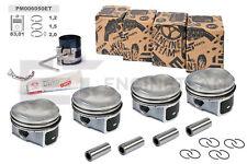 4x Piston Repair Kit + 0 1/32in Bolts Ø0 27/32in VW Audi Skoda Seat 1,8 TSI TFSI