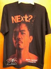 MANNY PACQUIAO med T shirt boxing Next? tee Alaxan FR commercial Filipino