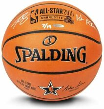 """BEN SIMMONS Autographed """"1st ASG"""" Authentic 2019 NBA All Star Basketball UDA LE"""