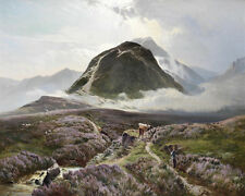 Sidney Richard Percy   Carn Dearg And Ben Nevis From Achintee  24'  CANVAS