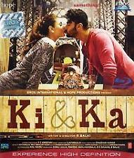 Ki & Ka(2015) Blu Ray Disc ALL REGIONS WITH ENGLISH SUBTITLES