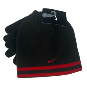 Nike Youth Reversible Hat and Glove Set 9A2427 KR5
