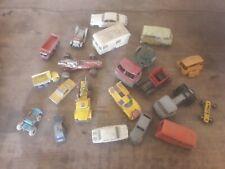 lot  voiture et camion tole plastique ancien jouet à identifier Norev