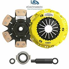 eCLUTCHMASTER STAGE 4 SPRUNG CLUTCH+SLAVE KIT 2000-2004 FORD FOCUS 2.0L ZX5 DOHC
