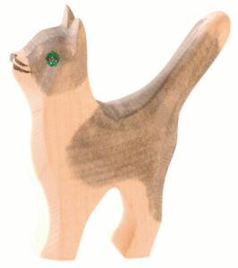Katze klein Kopf hoch Ostheimer Holzspielzeug 11407