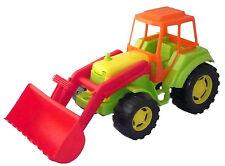Tracteur avec chargeur 45 cm en plastique, enfant, jouet, jeux pas cher neuf