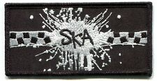 SKA Explosion Checkers Iron On PATCH **Free Shipping** reggae specials rude boy