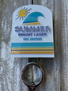 RARE! XXXX Summer Beer Tap Top Decal And Mount!