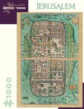 Pomegranate Jigsaw - Jerusalem by Georg Braun (1000 pieces)