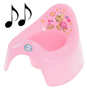 Musical training to go potty for small children-turtle rose