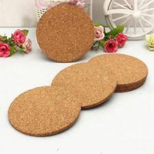6 Stück Küche pad einfaches Holz Wein Platzdeckchen Becher Tasse Matte Kork