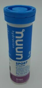 Nuun Hydration Sport - Grape 1 Tube (10 Tablets)