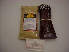 DEER VENISON SUMMER SAUSAGE KIT FOR 25 LBS W/ MAHOGANY CASINGS, SEASONING, CURE