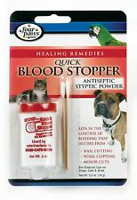 Four Paws Antiseptic Quick Blood Stopper Powder .5 oz