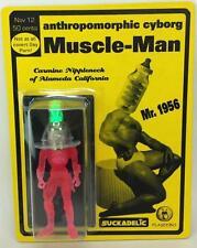 ANTHROPOMORPHIC CYBORG MUSCLE-MAN ACTION FIGURE SUCKADELIC SUCKLORD PLASEEBO