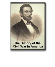 History of the Civil War in America: Rebellion War Army Navy on CD - B235