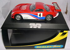 SCALEXTRIC  SLOT CAR TVR SPEED 12  #4 MOBIL  ESPECIAL EDITION  MB