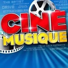 """COFFRET 2 CD NEUF """"CINE MUSIQUE"""" Intouchables, Drive, Polisse, The artist, Les p"""