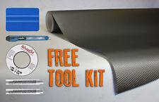 Gunmetal grey carbon fiber vinyl DIY kit car wrap 30M x 1.52M VV9 decal film