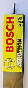 BOSCH wiper blade 3397118905 FRONT AR551S 550/500mm AEROTWIN
