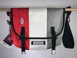 TIMBUK2 of San Francisco : CLASSIC MESSENGER BAG : small - stop red/white/silver