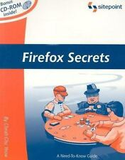 Firefox Secrets: A Need-To-Know Guide by Yeow, Cheah Chu, Good Book