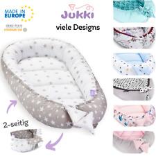 Baby Nestchen Kokon Babynest Kuschelnest Reisebett 2-seitig Baumwolle ★ Minky ★