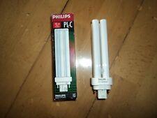Lot de 2 ampoules Philips PL-C 13 W 830 4pins