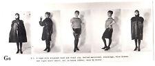 GUMMI FETISCH LATEX WÄSCHE RUBBER UNDIES FETISH * Vintage 60s US Promo Photo G6