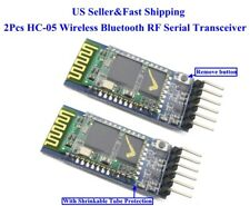 2pcs Hc 05 Wireless Blue Tooth Rf Serial Transceiver Module 6pin Rs232 Ttl Us
