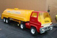 Tonka No 2635 Super Tanker Transport Semi Truck - Pressed Steel - USA