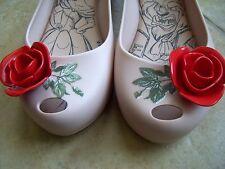 MEL BY MELISSA Ultragirl Disney Beauty & the Beast Flat Shoes Size 1 Us $79.95