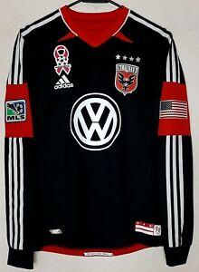 MLS DC United Adidas 2013 Carlos Pescadito Ruiz Player Issue Home Soccer Jersey