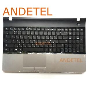 For Samsung 300E5A 305E5A NP300E5A NP300E5C RU Keyboard Palmrest Touchpad NEW