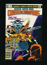 MARVEL SUPER HERO CONTEST OF CHAMPIONS #2 7/1982 LIMITED SERIES *UNPRESSED*