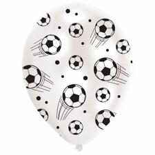 6 Paquets Football Ballons en Latex 27.5cm Anniversaire Sport Décorations