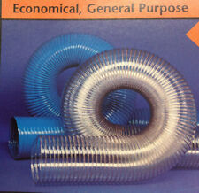 3''ID CVD CLEAR PVC HOSE/DUCTING WITH WIRE HELIX, 50 FT