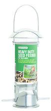 Gardman Alimentador de semilla de Aluminio Pulido Resistente Fácil Alimentador de relleno, limpio A01043