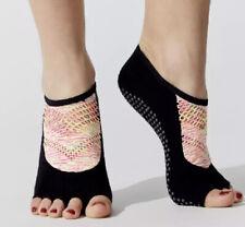 NWT ToeSox LUNA Half Toe Grip Sole Socks Size Small