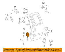 GM OEM Lock -Rear Door-Door Handle 19211052