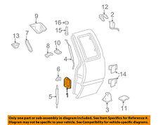GM OEM Lock -Rear Door-Door Handle 19211052